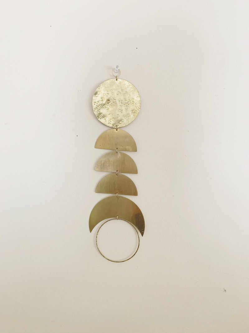 Metrix Jewelry - Brass Geometric Wall Hanging