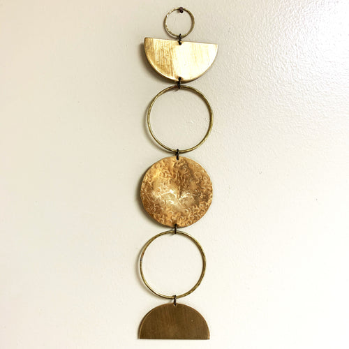 Metrix Jewelry - Geometric Wall Hanging 2