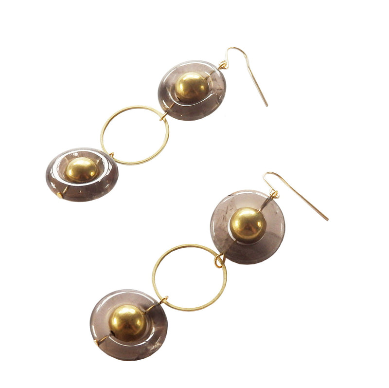 Metrix Jewelry - Saturn Earrings