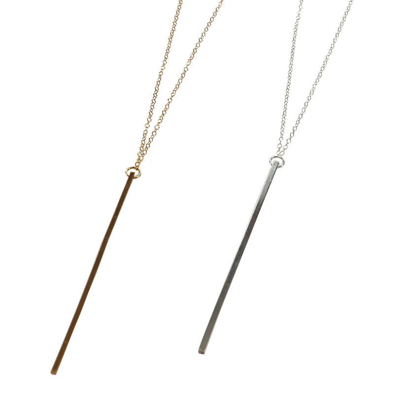 Linear Bar Necklace Necklace