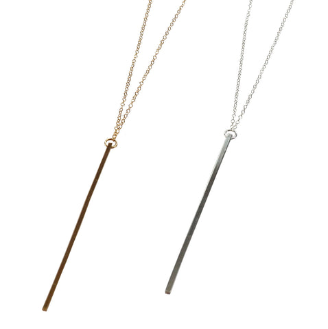 Linear Necklace - Bar Necklace