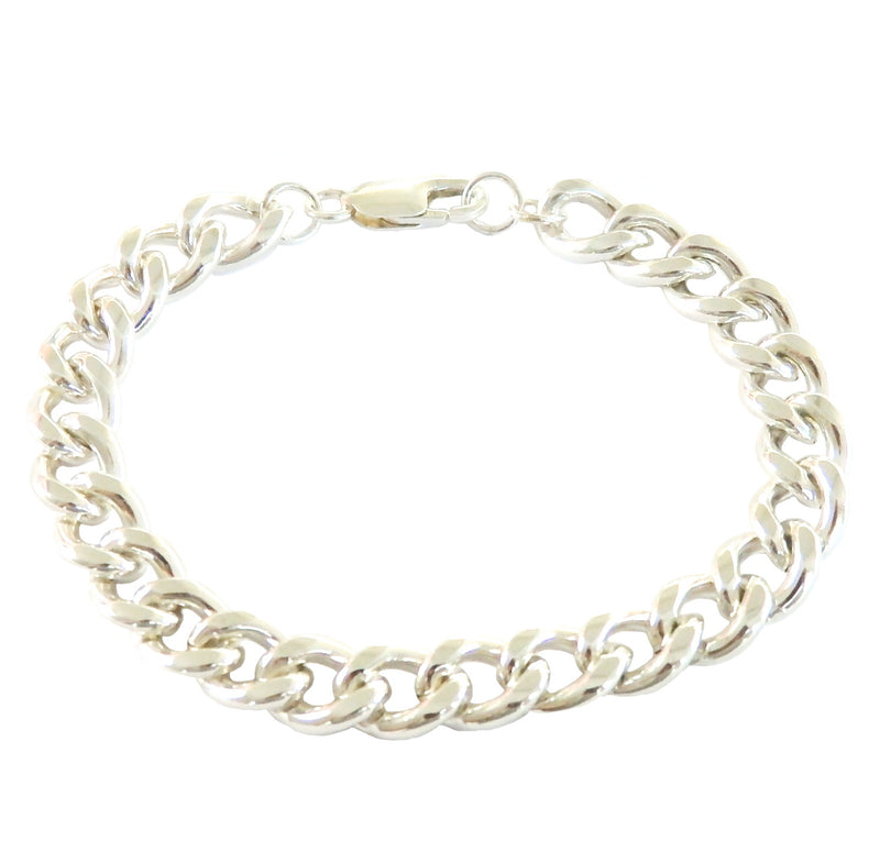 Metrix Jewelry - Thick Sterling Silver Chain Link Bracelet