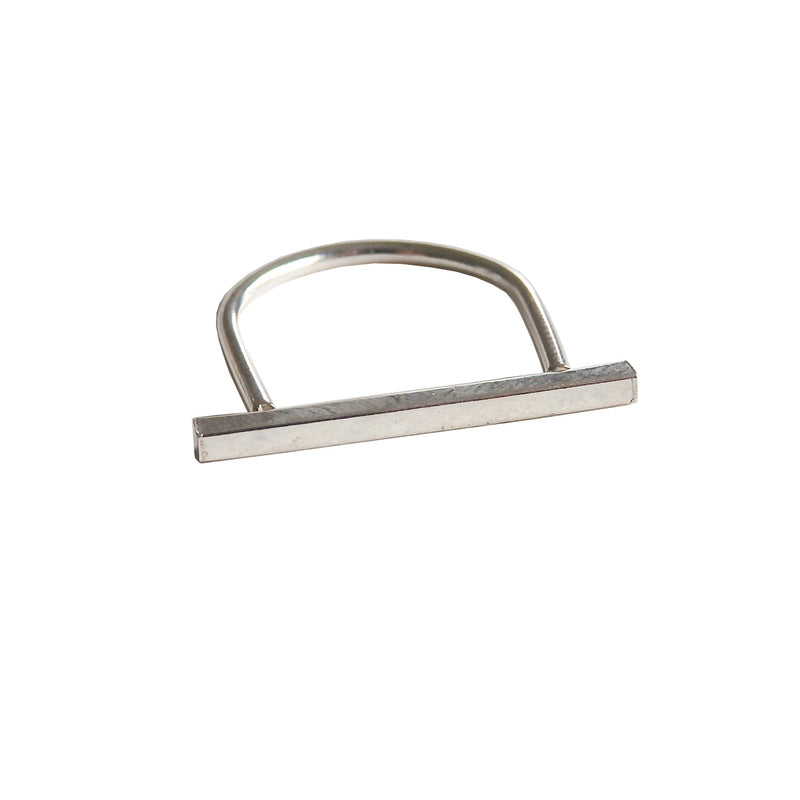 Metrix Jewelry - Linear Bar Ring (in Sterling Silver)