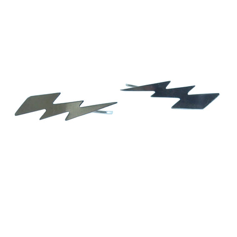 Lightning Bolt Earrings; Sterling Silver or 14 Karat Gold Fill