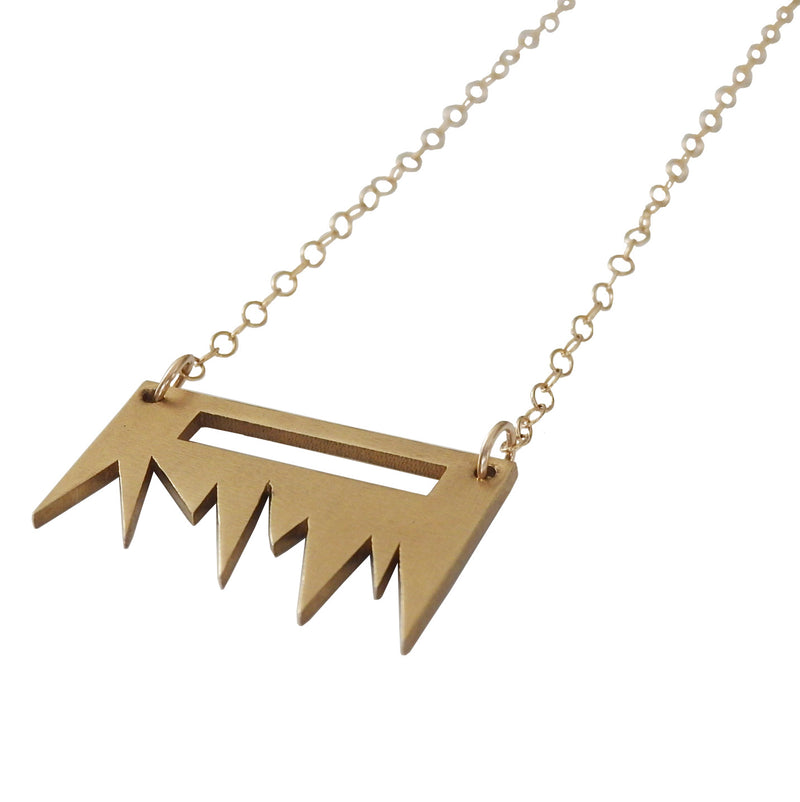 Metrix Jewelry - Spike Blade Necklace