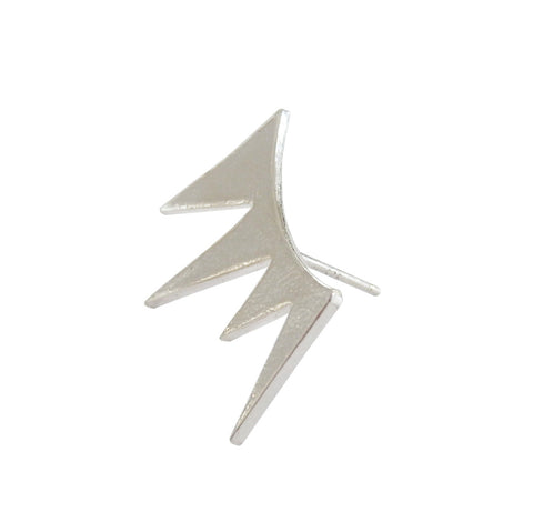 Spike Stud Statement Earring