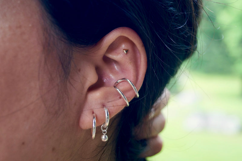 Open Double Ear Cuff
