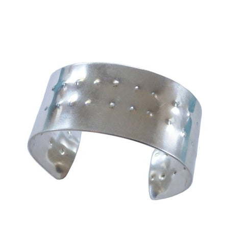 Sterling Silver Shield Cuff