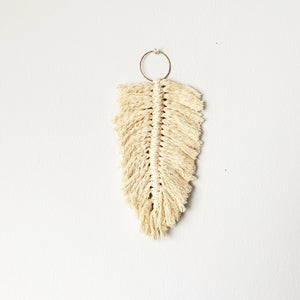 Feather Macrame Wall Hanging - Pick a Color