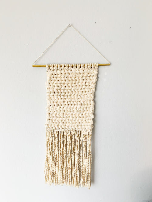 Metrix Jewelry - Woven Macrame Wall Hanging