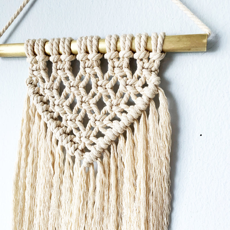 Medium Seized Macrame Wall Hanging