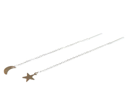Metrix Jewelry - Moon and Star Earring Threaders