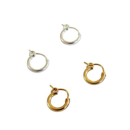 Metrix Jewelry - Huggie Hoops (mix and match)