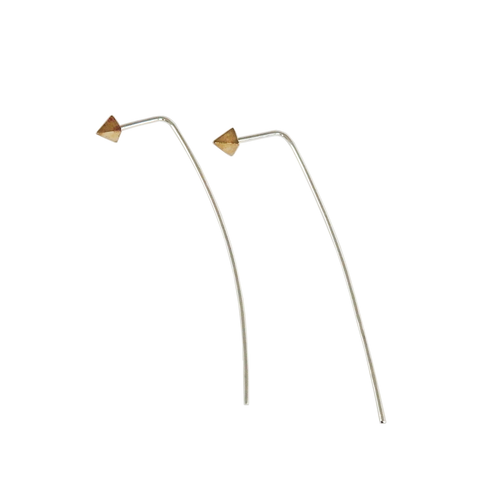 Metrix Jewelry - Petite Spike Thread Earrings