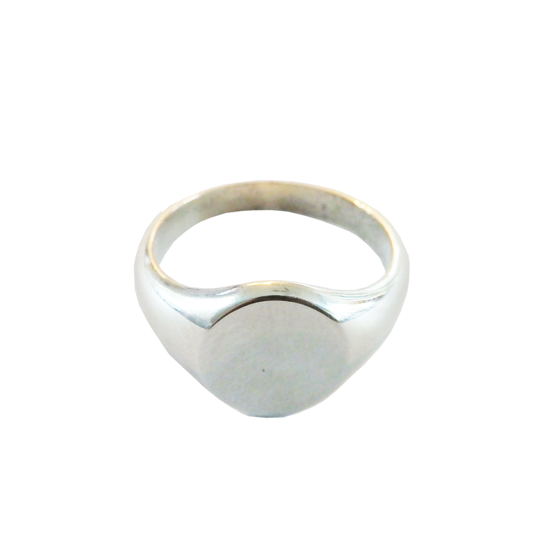 Metrix Jewelry - Sterling Silver Signet Ring