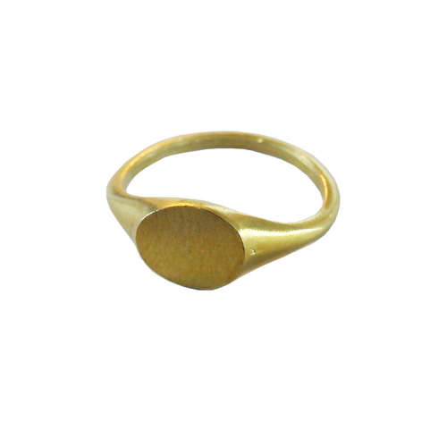 Metrix Jewelry - Brass Signet Ring