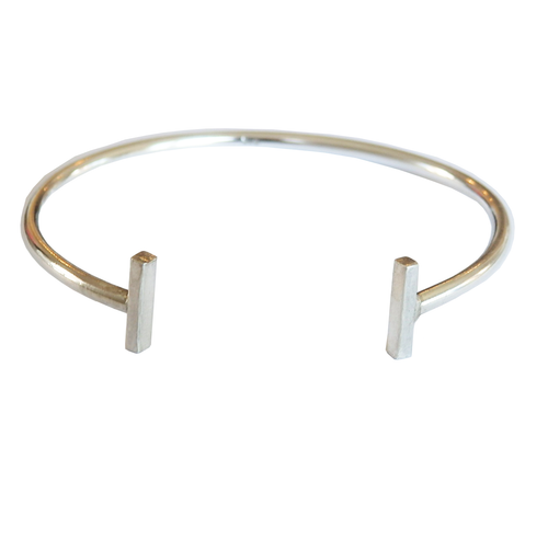 Metrix Jewelry - T Pin Bar Cuff