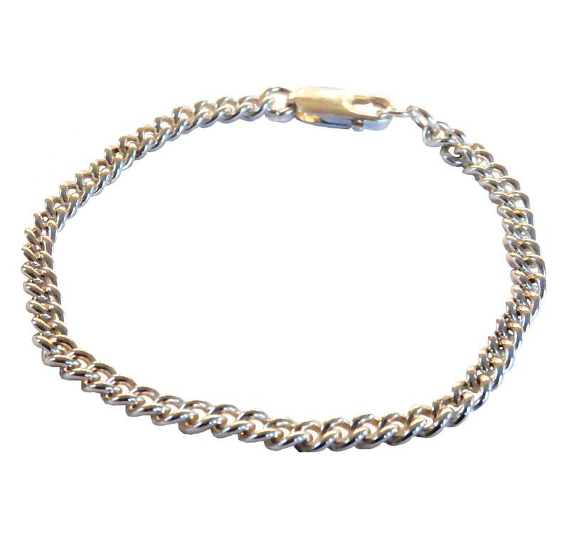 Metrix Jewelry - Sterling Silver Chain Link Bracelet