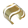 Metrix Jewelry - Brass Swirl Cuff