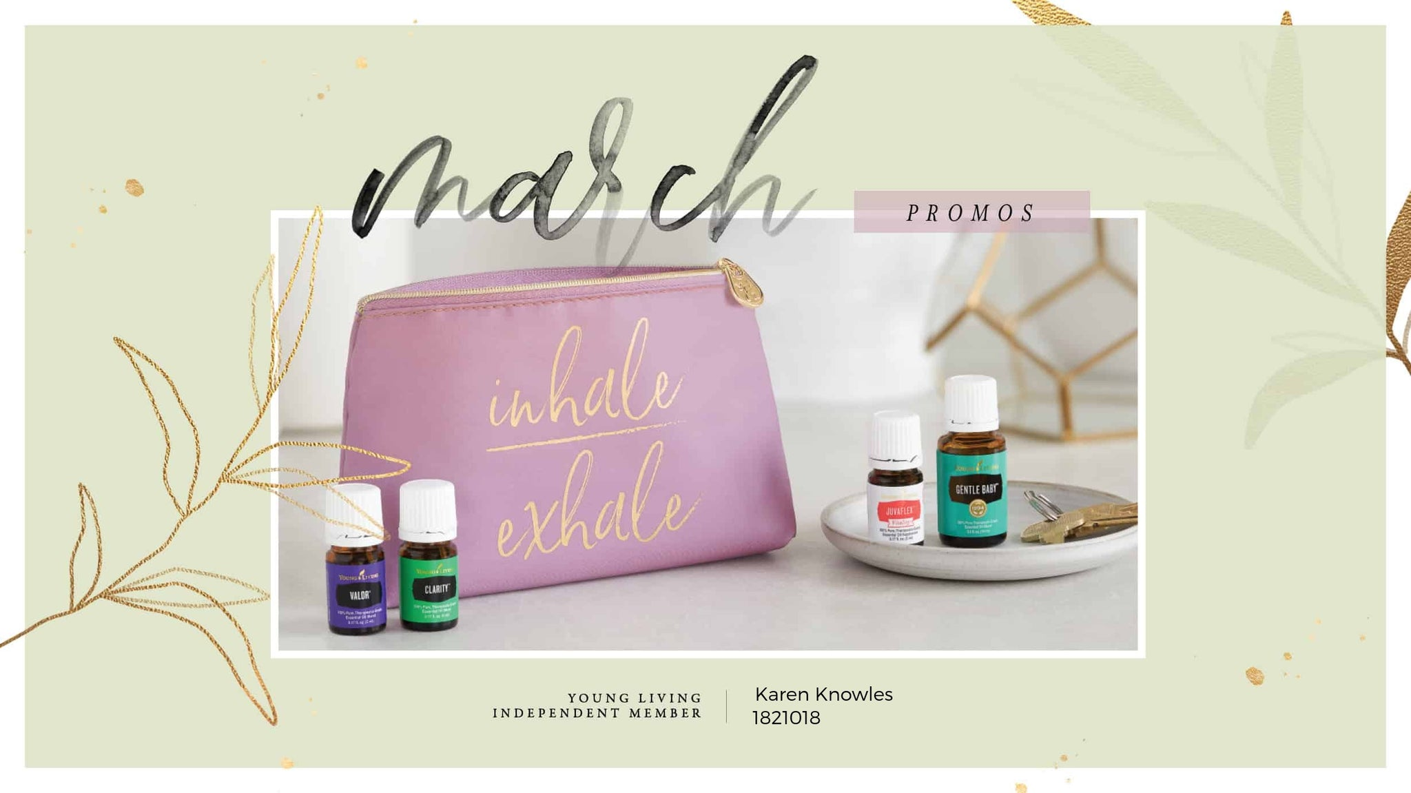 March 2020 Young Living US Promos