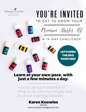 Vitality Essential Oils 14 Day Challenge