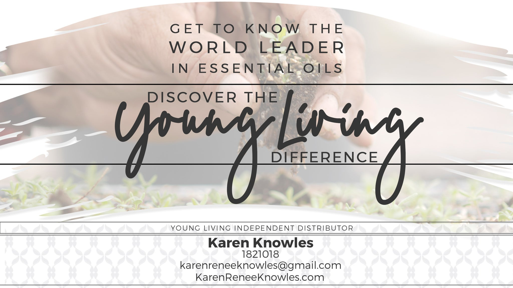 The Young Living DIfference