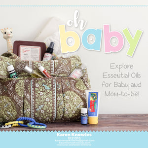 Explore Essential Oils for Mom to Be and Baby Too