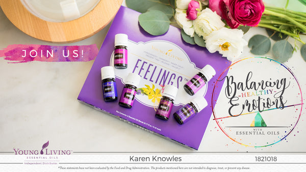 Balancing Healthy Emotions Using Essential Oils