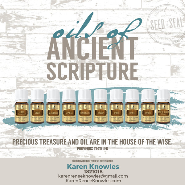 Essential Oils of the Ancient Scripture 101