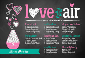 Love Is In The Air Diffuser Blend Recipes