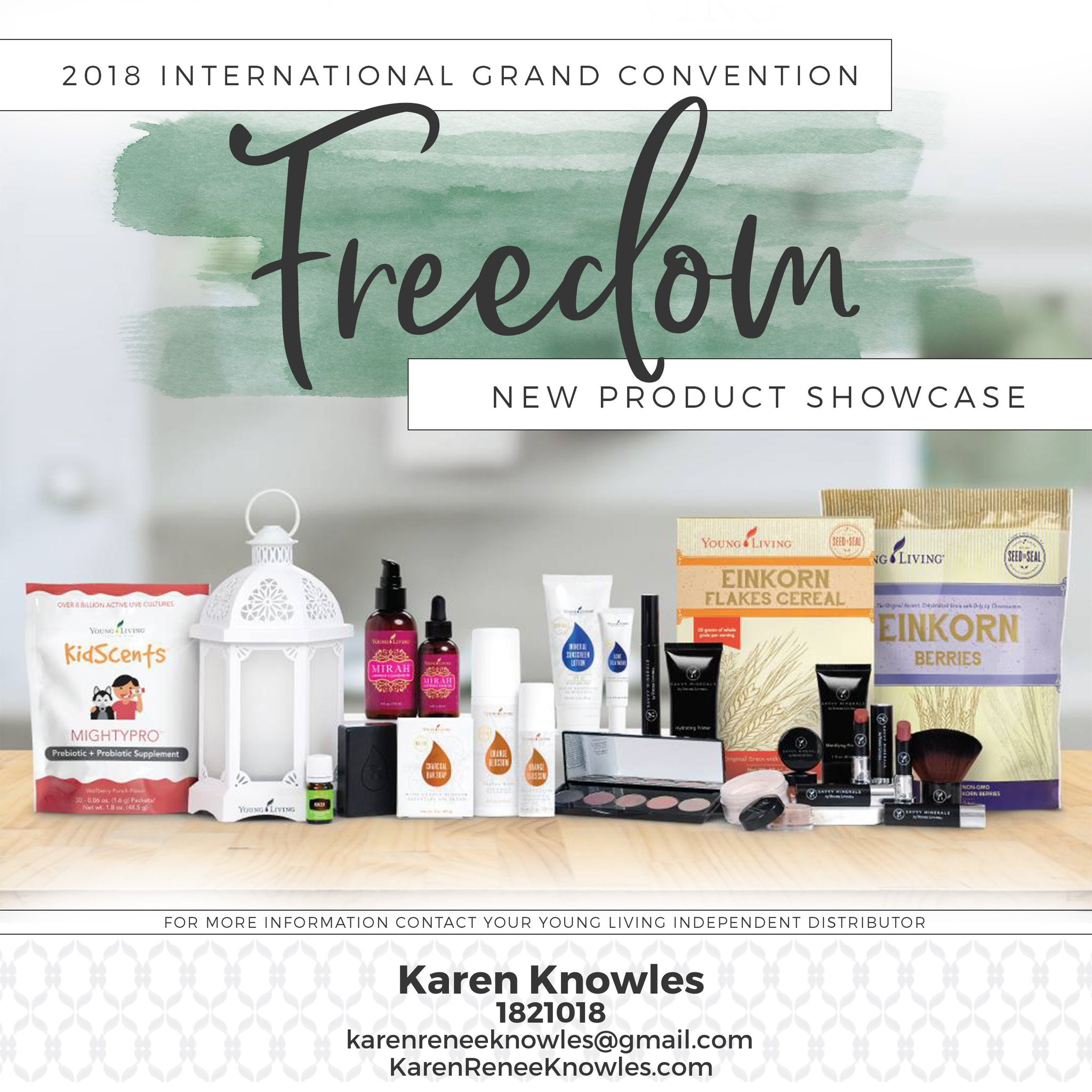 2018 New Young Living Convention Showcase