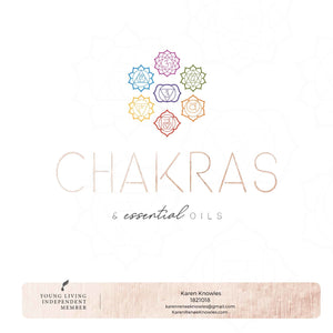 Discover how to use essential oils to help balance your Chakras