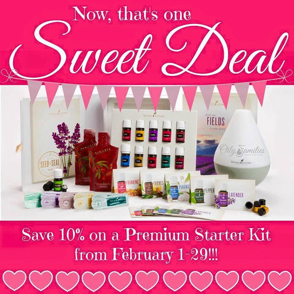 Happy Valentines! Get your hands on a Premium Starter Kit this month for 10% off!