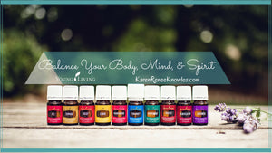 Getting started using Young Living Essential Oils