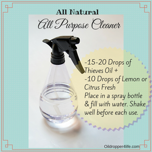 All Purpose Cleaner infused with Essential Oils