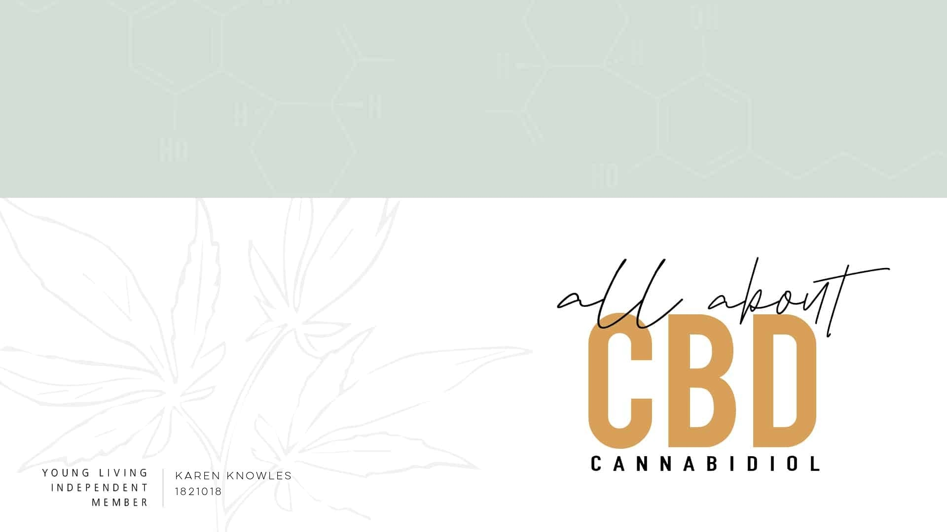 Young Living's CBD line Presented