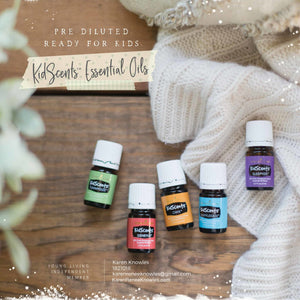 Kidscents Line of Essential Oils Made just for Your Little Ones