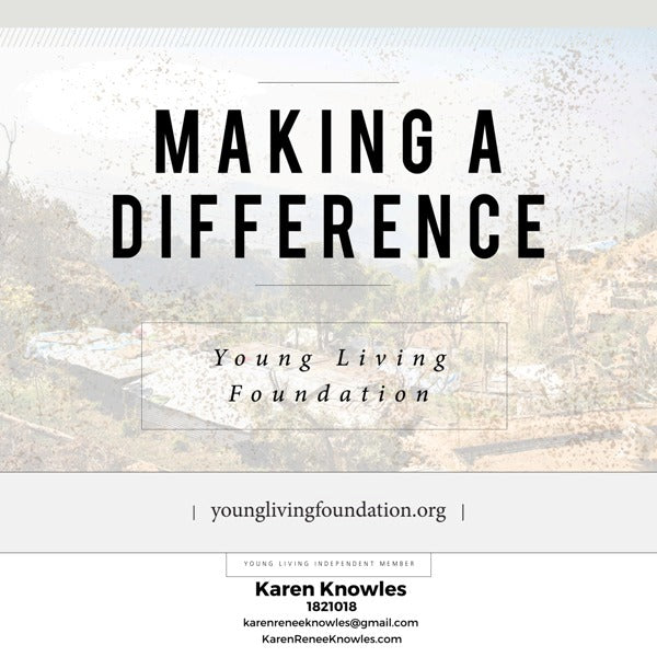 Learn About the Important Contributions of The Young Living Foundation