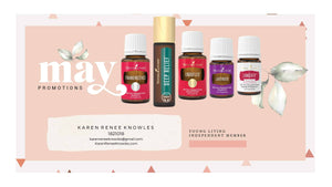 Young Living USA May PV Promos