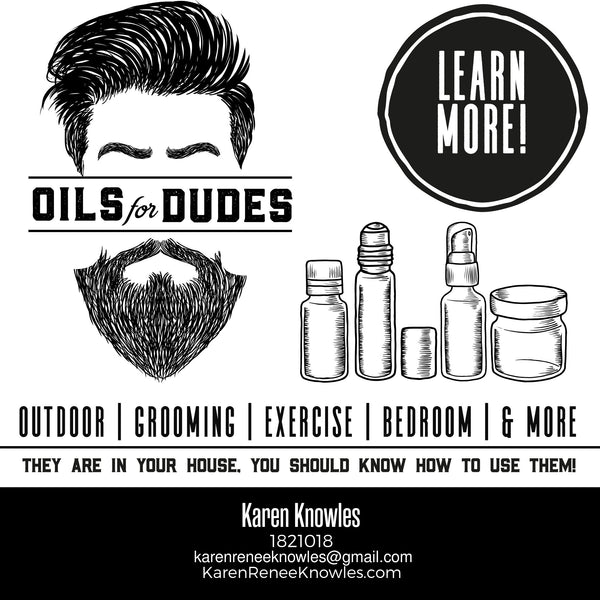 Oils for Dudes- Just in time for Father's Day!