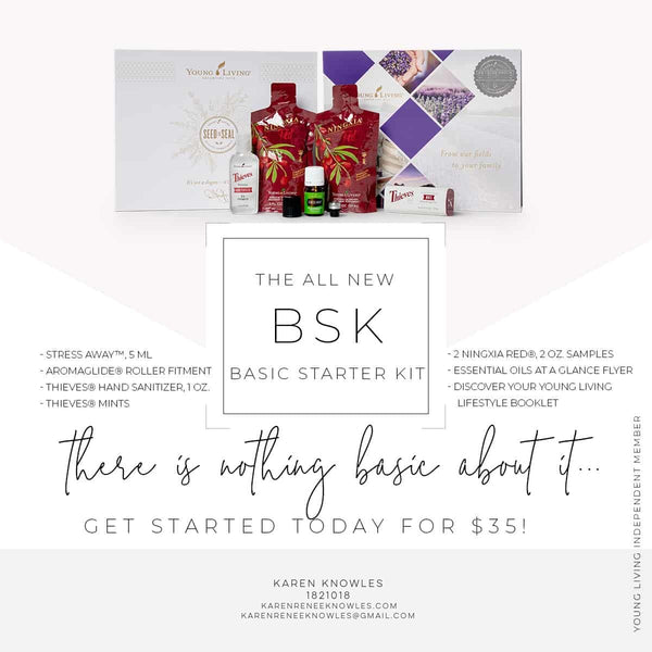 Inside Peak at The Basic Starter Kit by Young Living