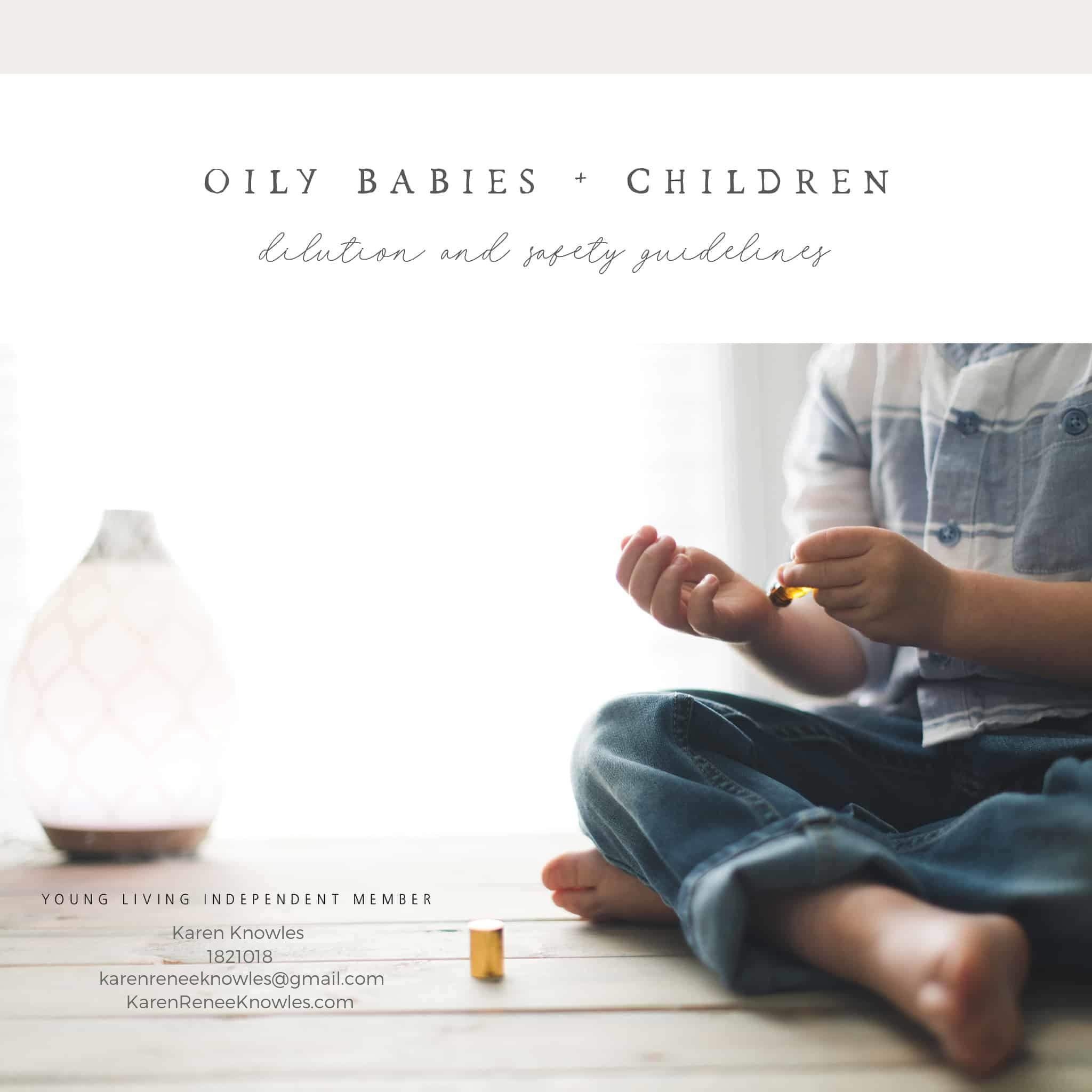 Essential Oils and Recipes Safe for Babies and Kids