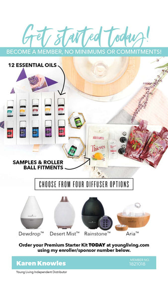 Premium Starter Kit Details, Recipes, and Specific Uses to Help Get You Started with Your New Oils