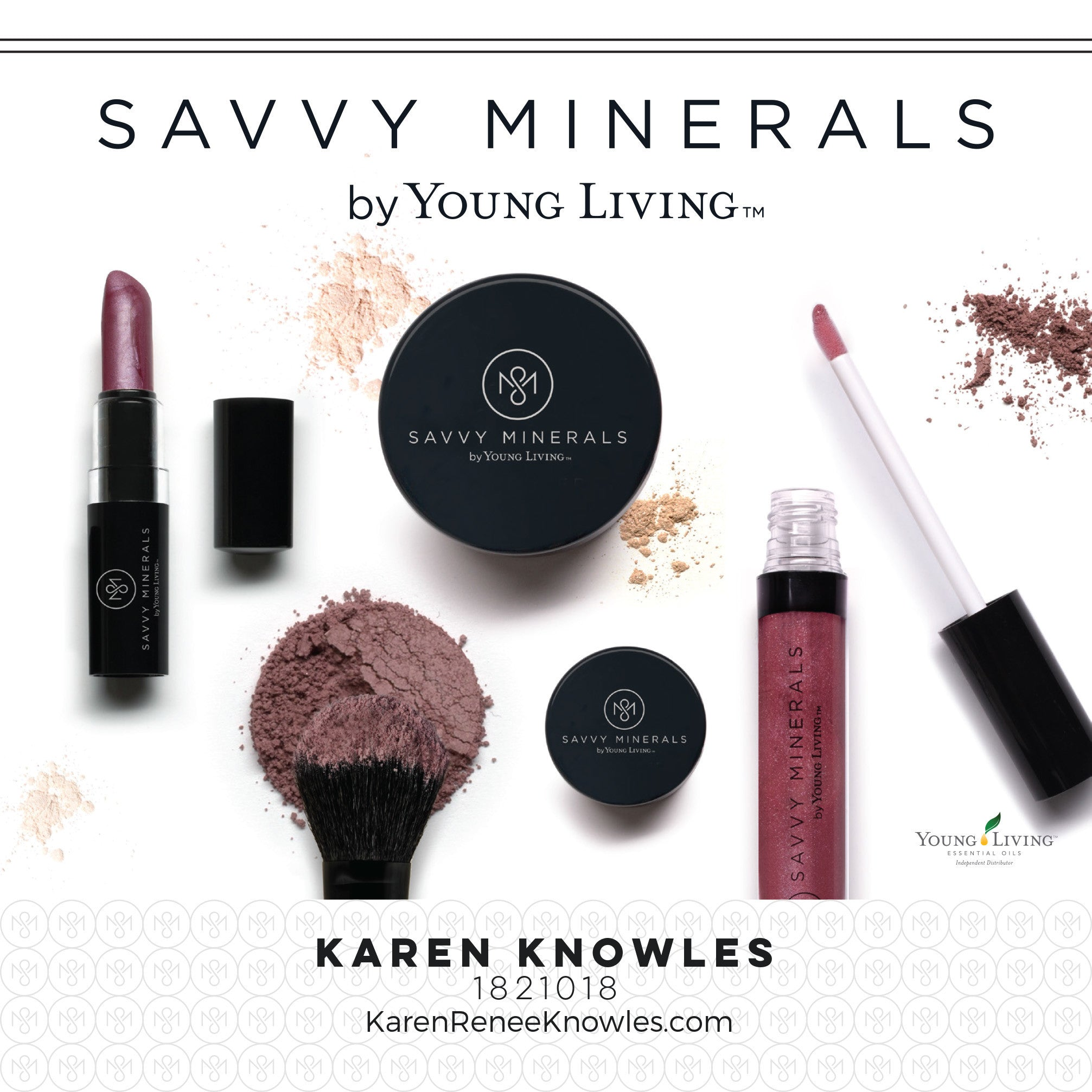 New Young Living Products including Savvy Minerals Natural Make-Up line!!