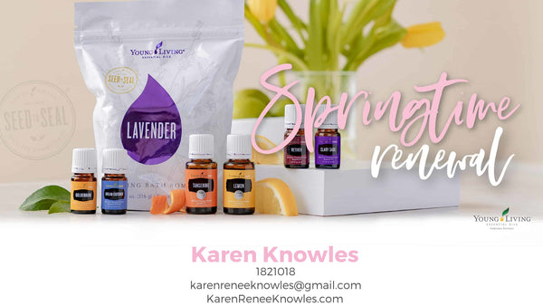 Springtime Renewal with young Living April Promotions