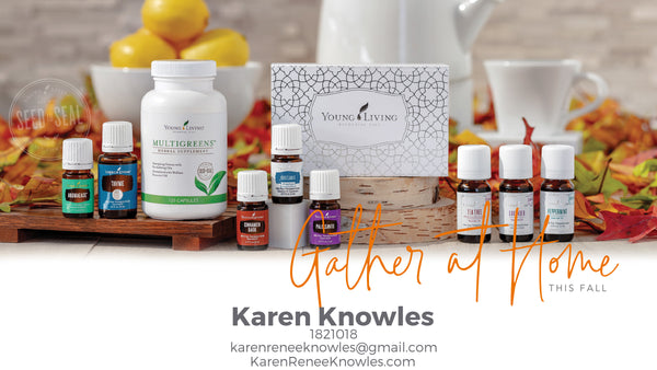 Young Living October Essential Rewards Promotions