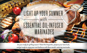 Essential Oil Infused Grilling Marinades