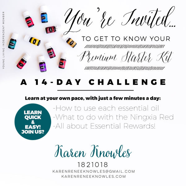 14 Day Vitality Essential Oils Challenge