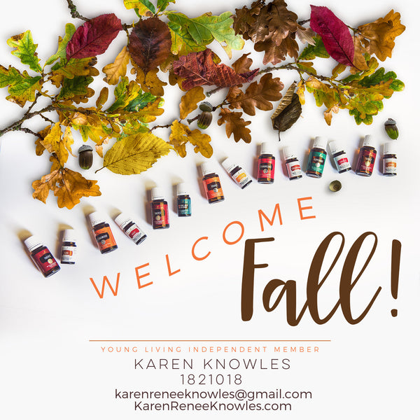 Thrive this Fall with Young Living Essential Oil DIY Recipes and Fall Diffuser Blends