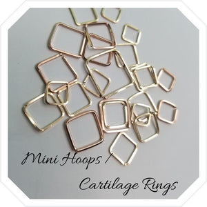 Mini Hoop / Cartilage Rings